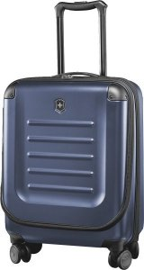 Walizka Spectra 2.0, Dual-Access Extra-Capacity Carry-On, Granatowa