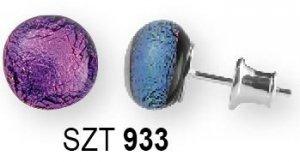 Kolczyki Sztyfty MURANO GLASS SZT933