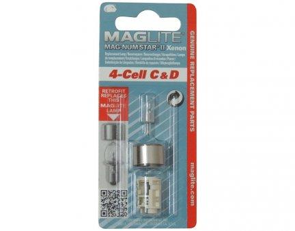 Żarówka Maglite xenon 4C , 4D LMXA401
