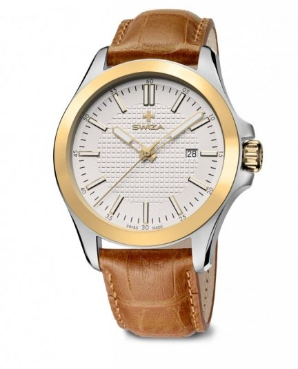 zegarek URBANUS, 2T, eggshell, brown WAT.0761.2301