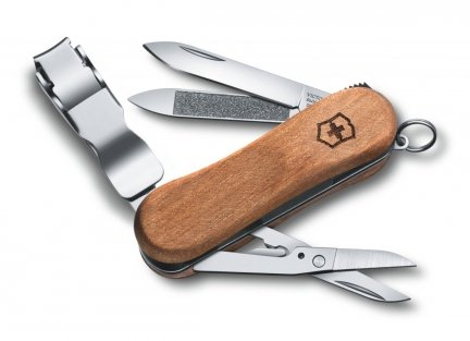Scyzoryk Victorinox Nail Clip Wood 580 0.6461.63 GRAWER GRATIS