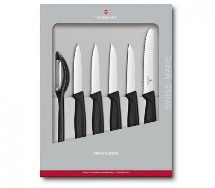 Zestaw noży do warzyw i owoców Swiss Classic 6.7113.6G