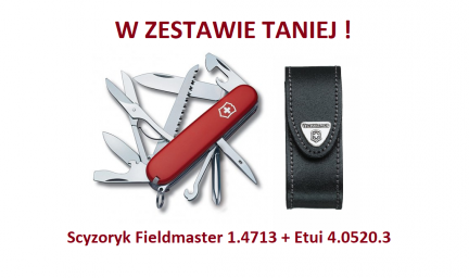 Scyzoryk Victorinox Fieldmaster 1.4713 + Etui 4.0520.3