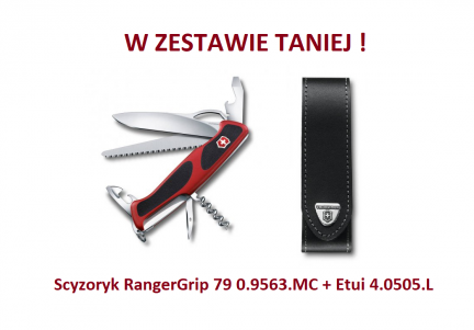 Scyzoryk Victorinox RangerGrip 79 0.9563.MC w zestawie z etui