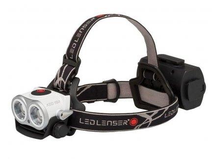 Latarka czołowa Ledlenser XEO19R black&white 7319-RW