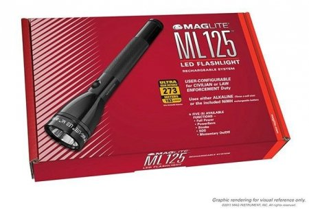 Latarka MagLite ML125 LED Karton ML125-35014