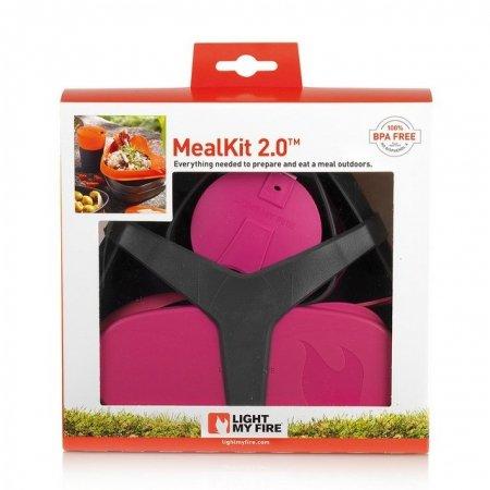 Zestaw turystyczny MealKit 2.0 Fuchsia 41360710 LIGHT MY FIRE