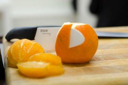 KYO - Zestaw: nóż Santoku Gen i obieraczka
