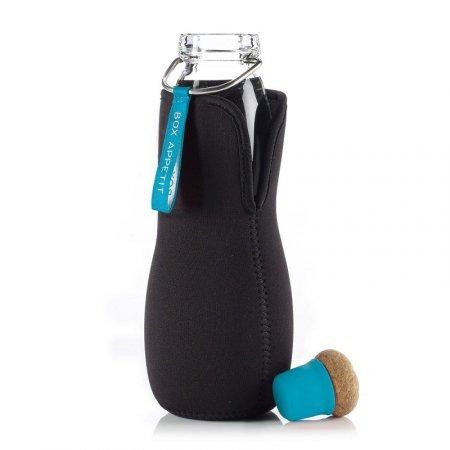 BB - Butelka na wodę EAU GOOD w pokrowcu,niebieska