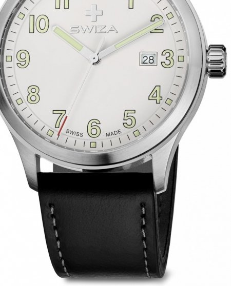 Zegarek KRETOS Gent, SST, white, black WAT.0251.1002