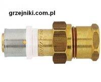 Złącze proste zaciskowo-śrubunkowe, 16*2-3/4 GW