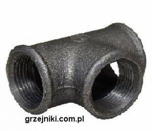 Trójnik 25 czarny 1
