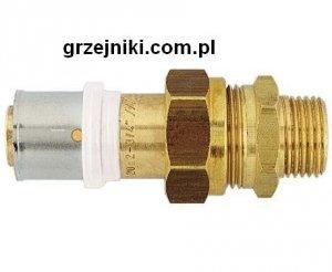 Złącze proste zaciskowo-śrubunkowe, 14*2-1/2 GZ