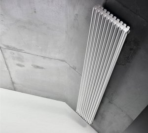 Grzejnik Antrax AV25D 600x656 [18el.] CON[5] BIAŁY BIAN moc 875W