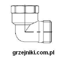 Kolano 3/4 GZ-3/4 GW