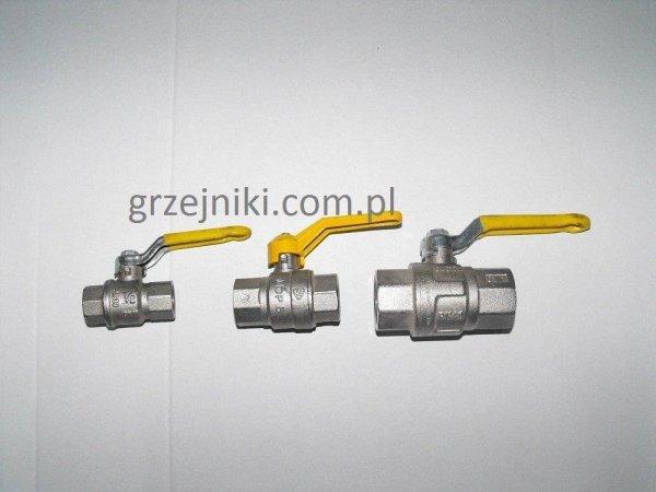 """Zawór kulowy gazowy 1/2"""" GW-GW"""