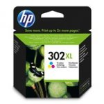 Tusz HP 302XL do Deskjet 1110/2130/3630 | 330 str. | CMY