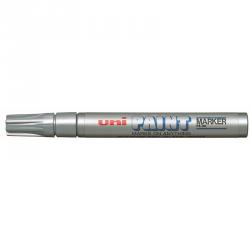 Marker olejowy PX-20 błyszczący srebrny UNI (mak3062)