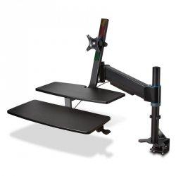 Stanowisko do pracy na siedząco lub stojąco  z systemem KENSINGTONE SmartFit® K55792WW (xak0121)