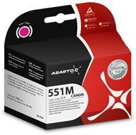 Tusz Asarto do Canon CLI551 iP7250/8750/6850/5450 | Magenta