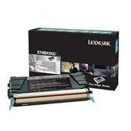 Kaseta z tonerem Lexmark do X-746/748 | zwrotny | 12 000 str. | black