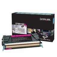 Kaseta z tonerem Lexmark do X748 | zwrotny | 10 000 str. | magenta