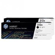 Zestaw dwóch tonerów HP 312XD do Color Laser Pro M476 | 2 x 4 400 str. | black