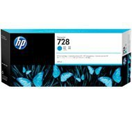 Tusz HP 728 do Designjet T730/T830 | 300ml | cyan