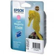 Tusz Epson T0486  do  R-200/220/300/340, RX-500/600/640 | 13ml | light magenta