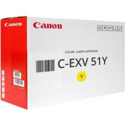 Toner Canon CEXV51Y do iR-ADV C5535i/C5540i | 26 000 str. | yellow