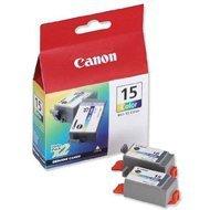 Tusze Canon BCI15C  do  I-70 | 2 x 100 str |  CMY