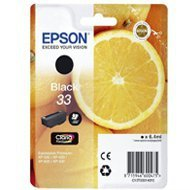 Tusz  Epson  black T33,  Claria T33  Premium Ink