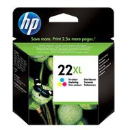 Tusz HP 22XL do Deskjet 3940/D2360/D2460/F380 | 415 str. | CMY