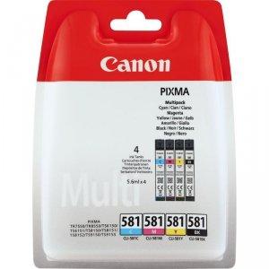 Tusz Canon CLI-581 CMYK  do Pixma TR8550/TS6150 | 4 x 5,6ml | CMYK