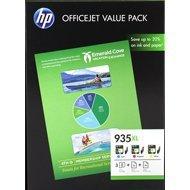 Zestaw trzech tuszy HP 935XL do Officejet Pro 6830 | CMY + papier