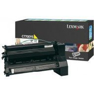 Kaseta z tonerem Lexmark do C-770/772,  X772 | zwrotny | 6 000 str. | yellow