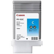 Tusz Canon  PFI102C do  IPF-500/600/700/710/720/750 | 130ml | cyan