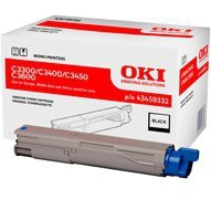 Toner Oki do C-3300/3400/3450/3600 | 2 500 str. | black EoL