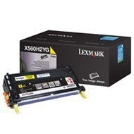 Kaseta z tonerem Lexmark do X560 | 10 000 str. | yellow