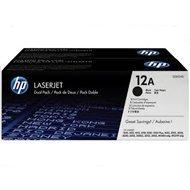 Zestaw dwóch tonerów HP 12A do LaserJet 1010/1012/1015 | 2 x 2 000  str. | black