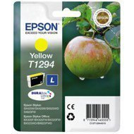 Tusz Epson  T1294  do  Stylus SX-230/235W/420W/425W/430W | 7ml | yellow
