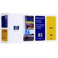 Tusz + głowica + głowica czyszcząca HP 83 do Designjet 5000/5500 | UV | yellow