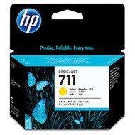 Zestaw trzech tuszy HP 711 do Designjet T120/520 | 3 x 29ml | yellow