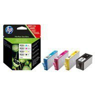 Zestaw czterech tuszy HP 920XL do OJ 6500 | 1200(BK) 3 x 700(COL) str. | CMYK