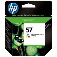 Tusz HP 57 Deskjet 450/5150/5550, PSC 1215/1216/1315 | 500 str. | CMY
