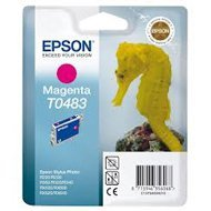 Tusz Epson T0483  do R-200/220/300/340, RX-500/600/640 | 13ml | magenta
