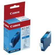 Tusz  Canon  BCI3EC do  BJ-C6000/6100, S400/450, C100, MP700 | 280 str. | cyan