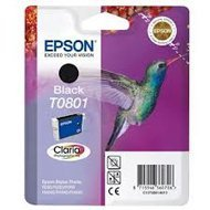 Tusz Epson T0801  do  Stylus Photo R-265/285/360 RX560  | 7,4ml | black