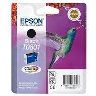 Tusz Epson T0801  do Stylus Photo R-265/285/360 RX560  | 7,4ml | black