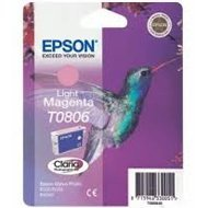 Tusz Epson T0806  do Stylus Photo R-265/285/360 RX560  | 7,4ml | light magenta
